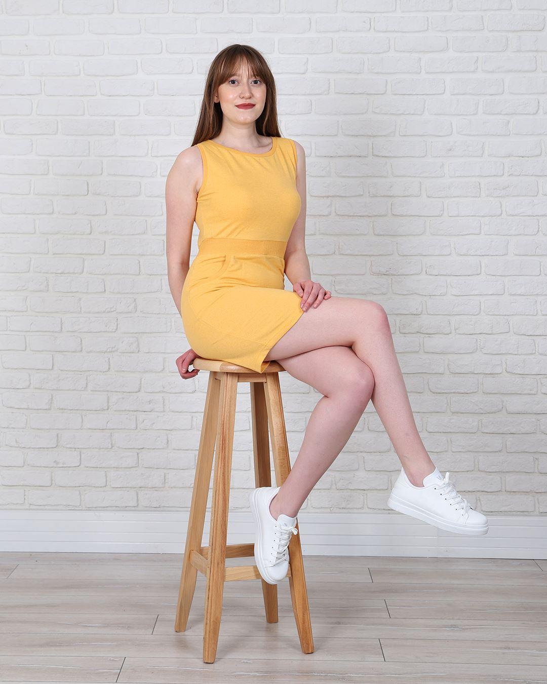 Hardal Elbise ELB542