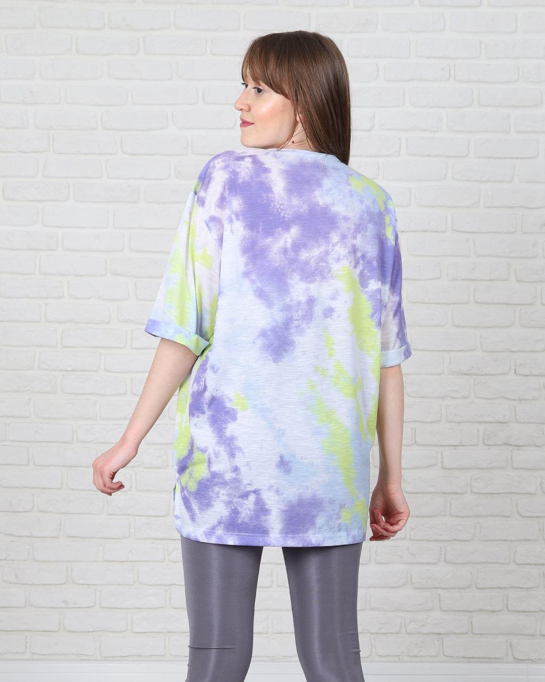 Lila Batik T-Shirt TSH199