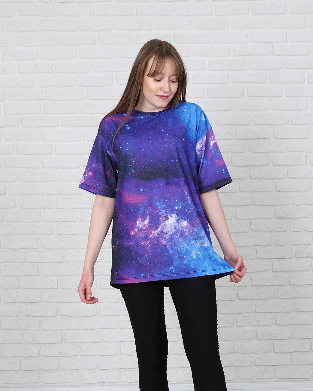 Dijital Baskılı Oversize T-shirt TSH183