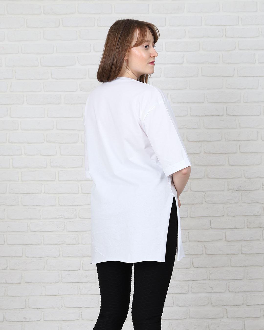 Beyaz Mom T-Shirt TSH172