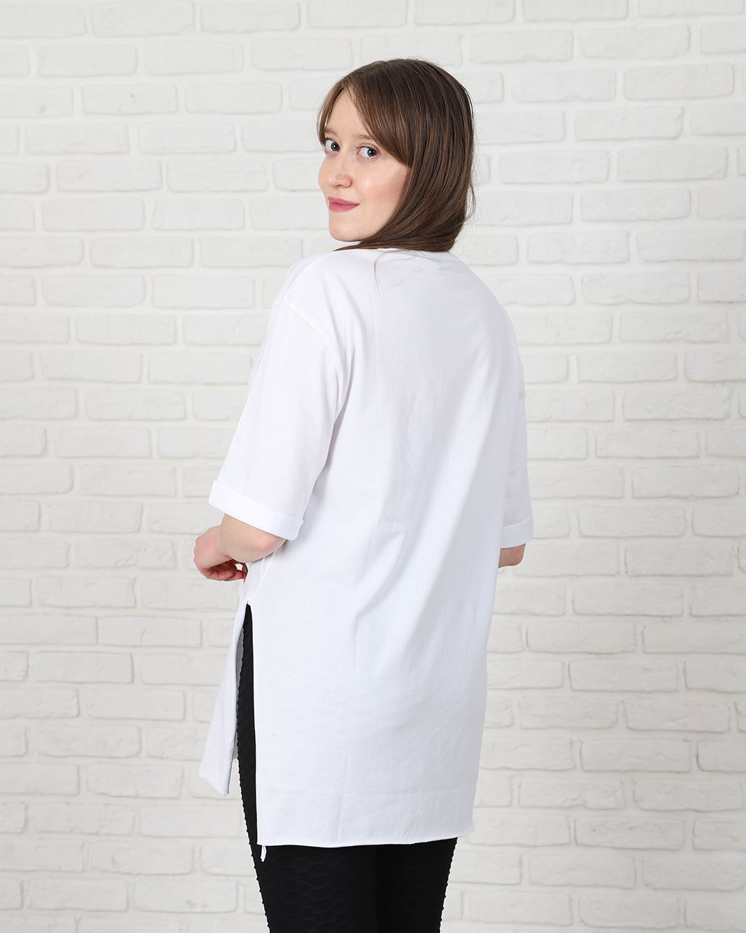 Beyaz Tweety Mom T-Shirt TSH174