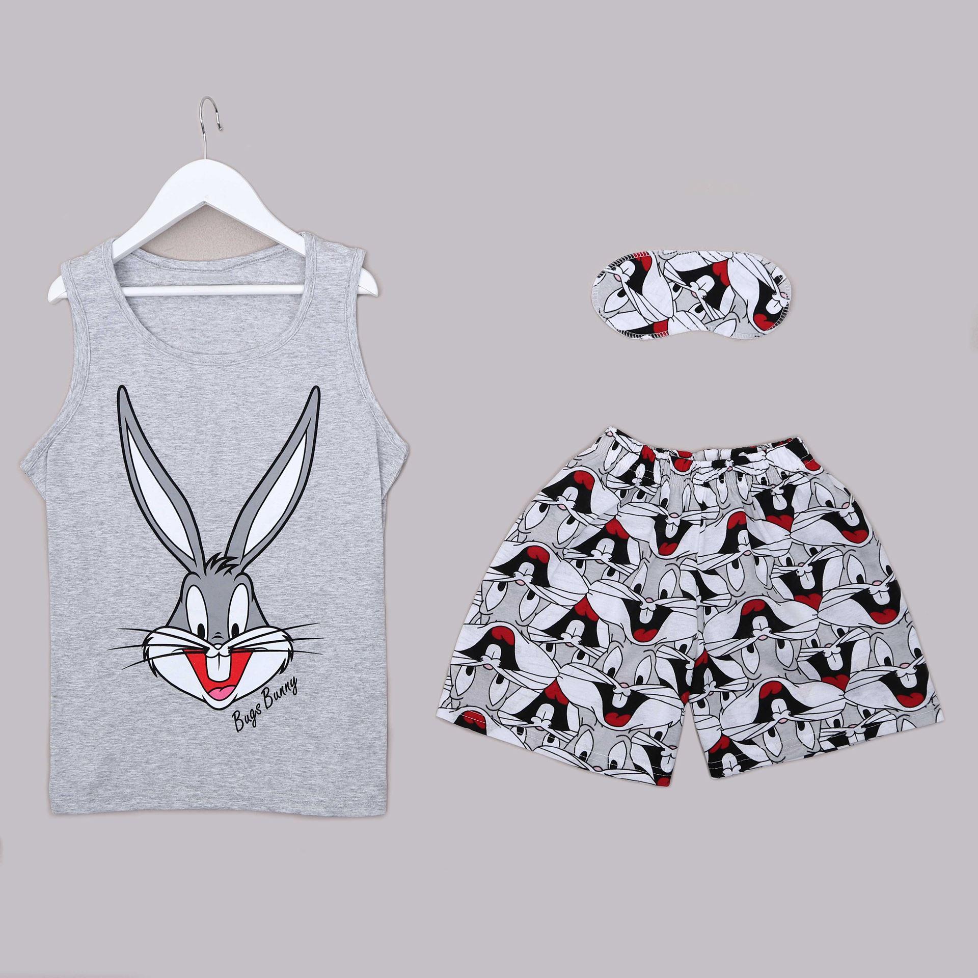 Bugs Bunny Şortlu Pijama Takımı PJM1307