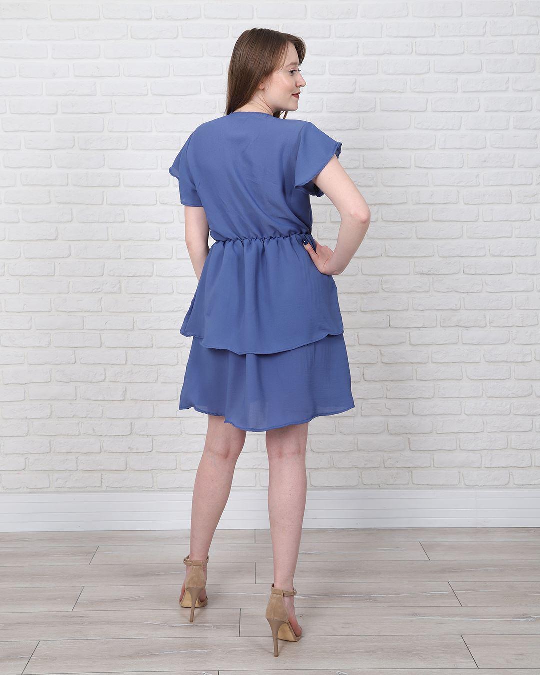 İndigo Elbise ELB557