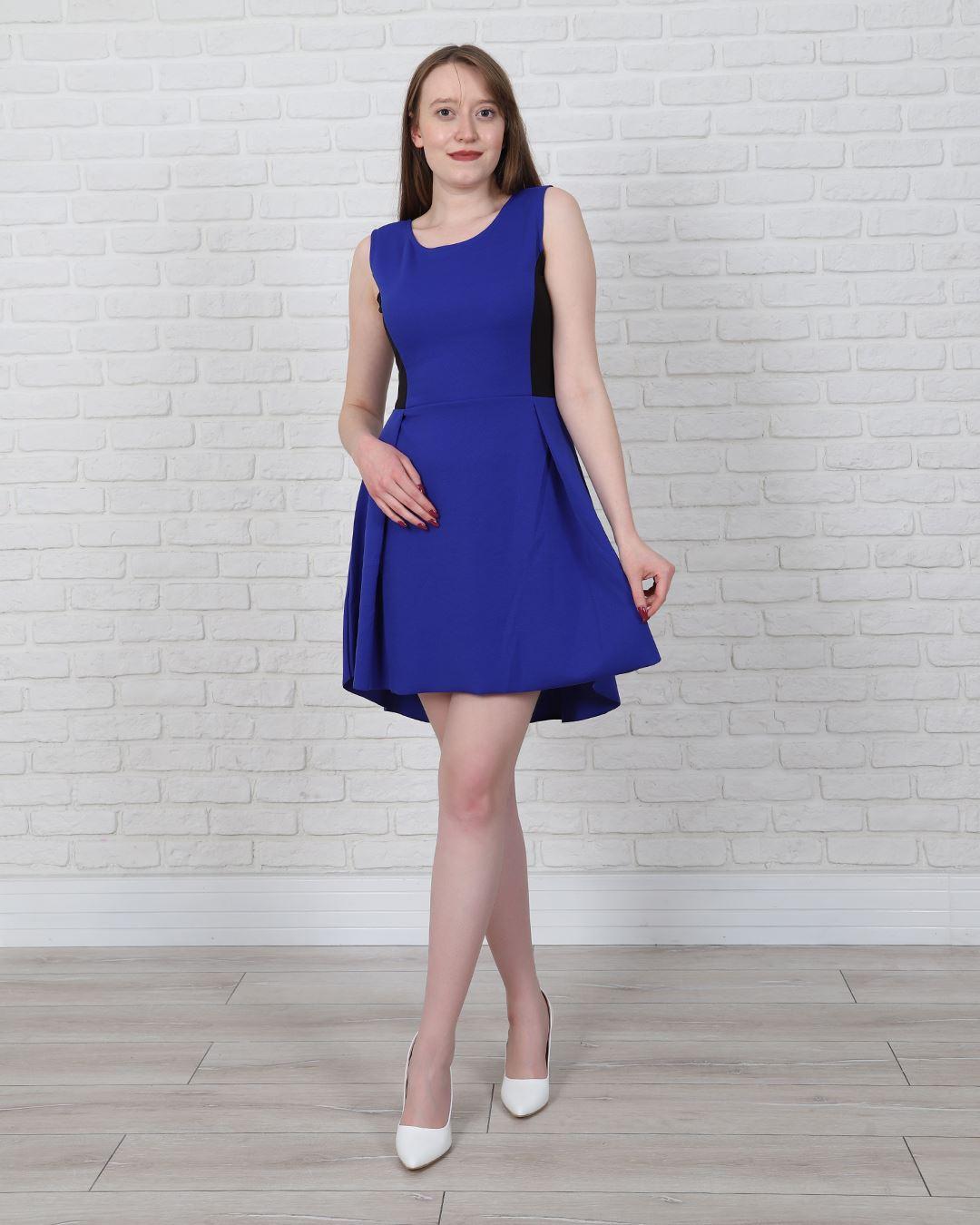 Saks Mavisi Elbise ELB435