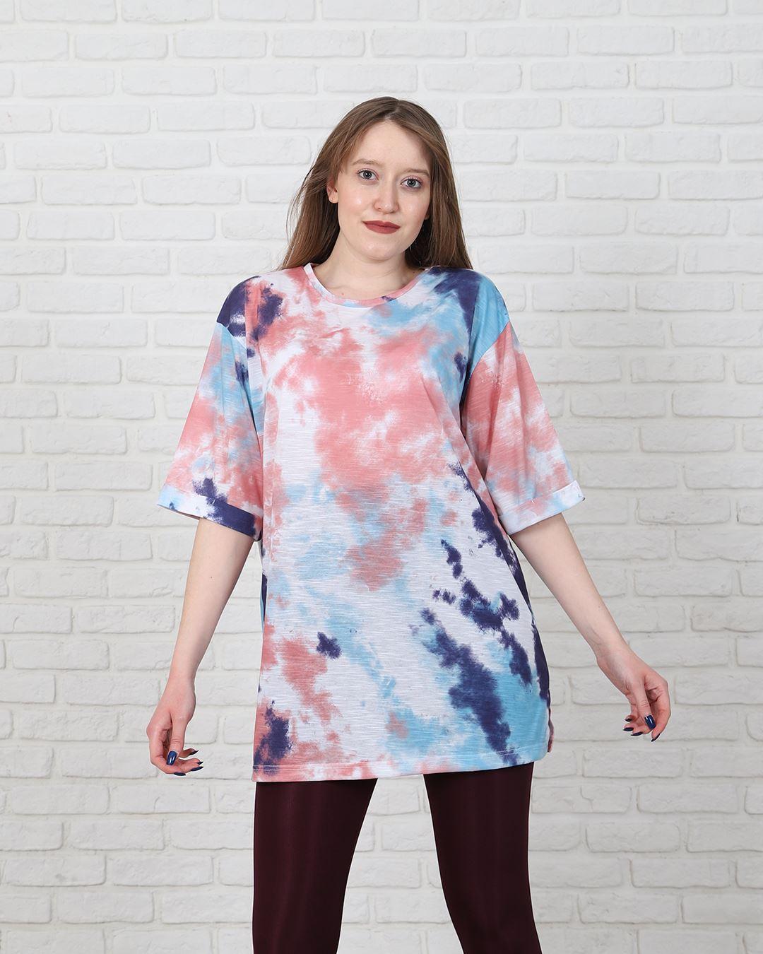 Renkli Batik T-Shirt TSH197