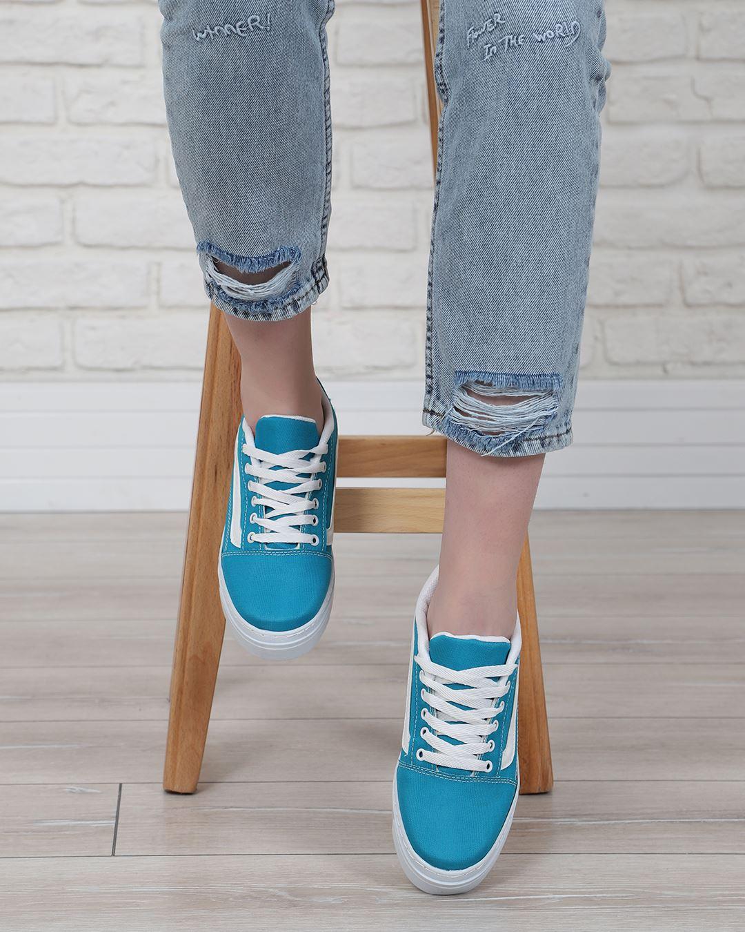 Turkuaz Vans Spor Ayakkabı AYK229