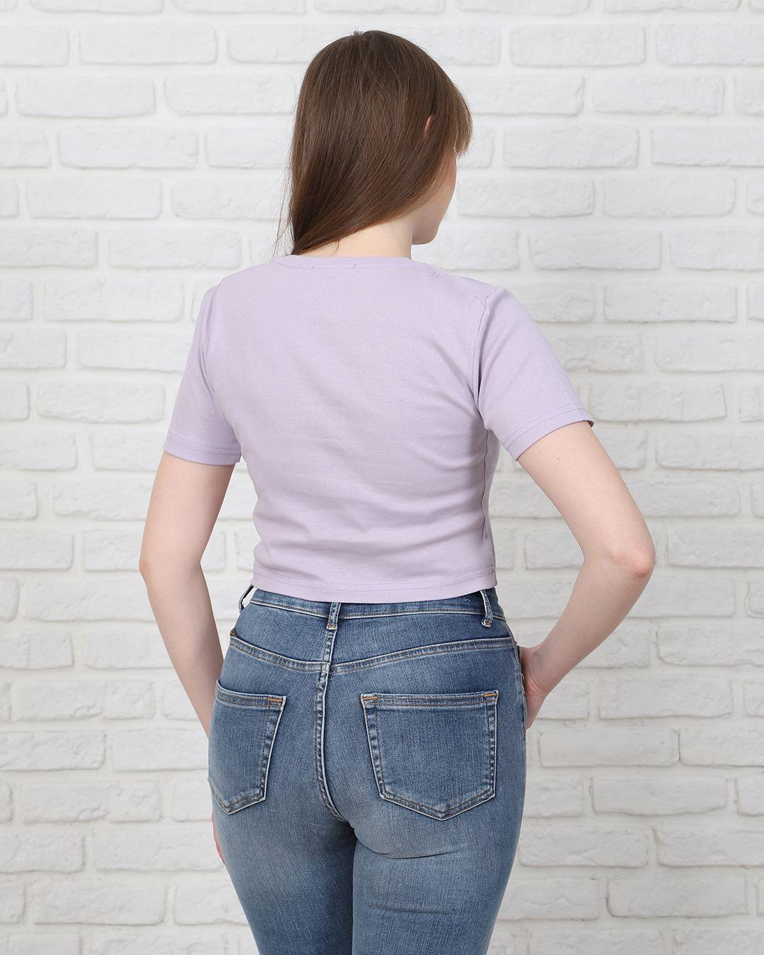 Lila Crop T-Shirt TSH220