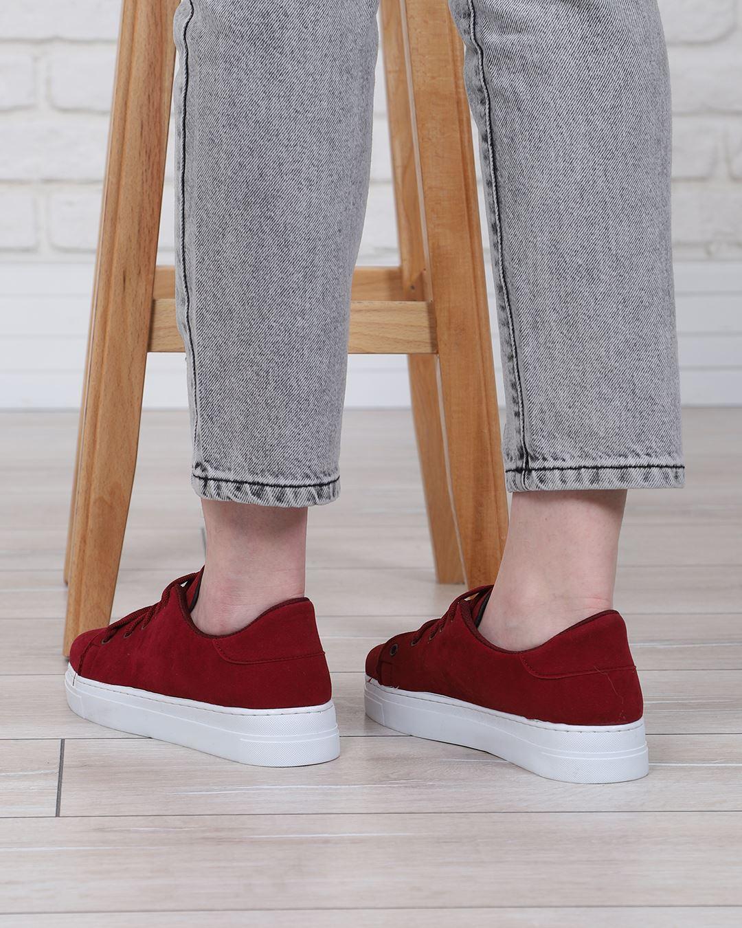 Bordo Spor Ayakkabı AYK164