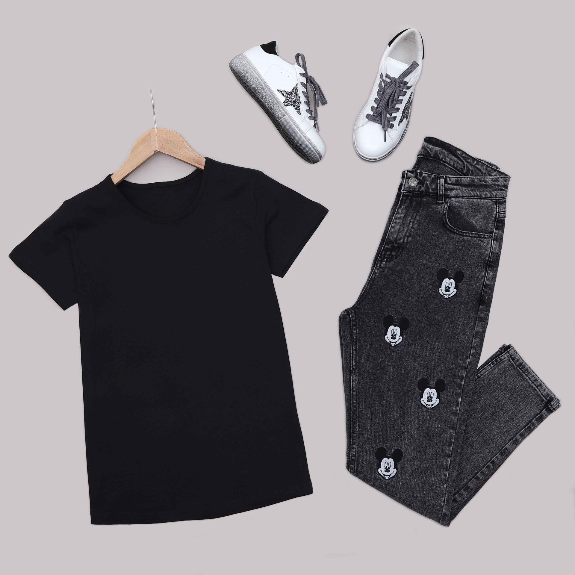 Siyah T-Shirt TSH221