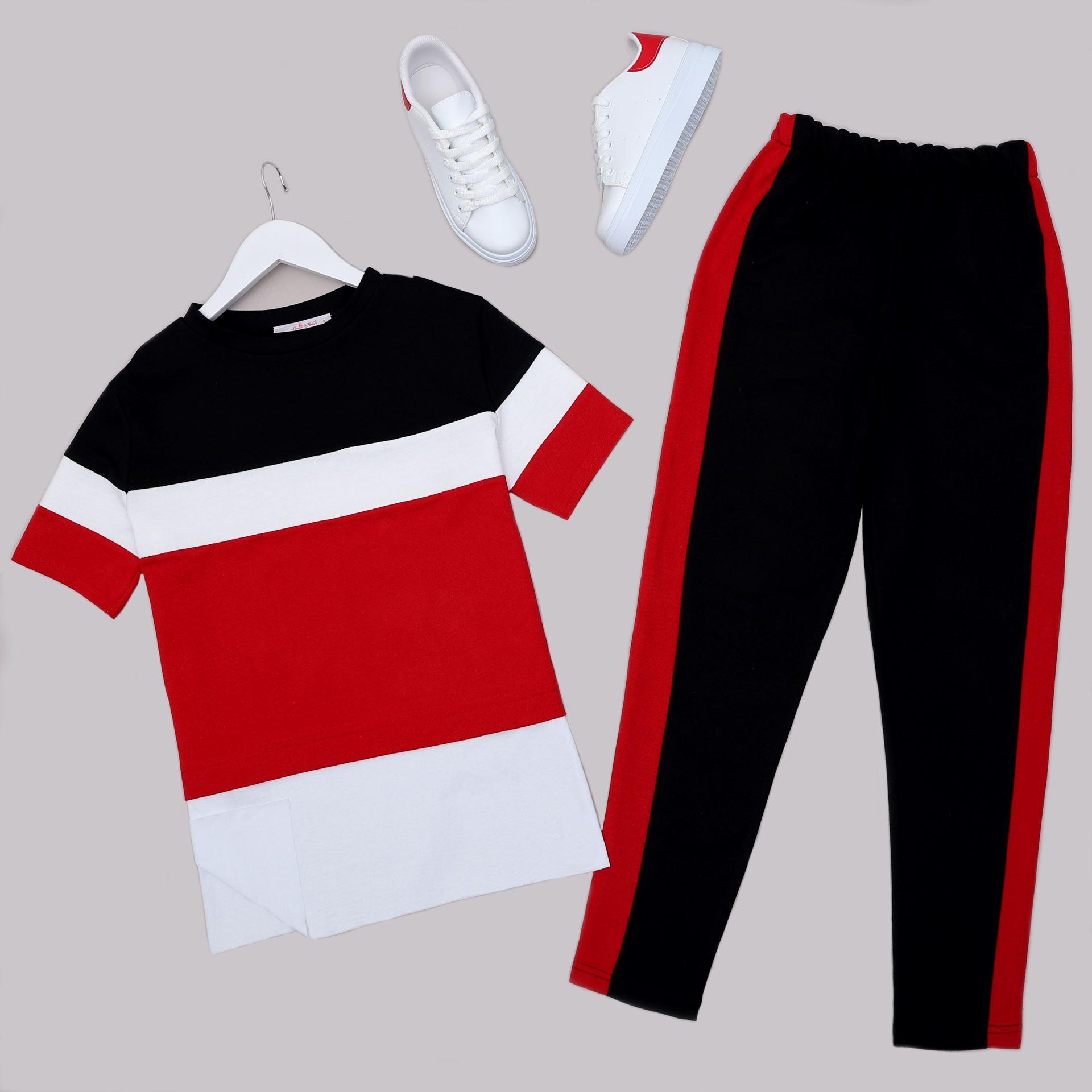 Kırmızı Eşofman Takımı TKM1411