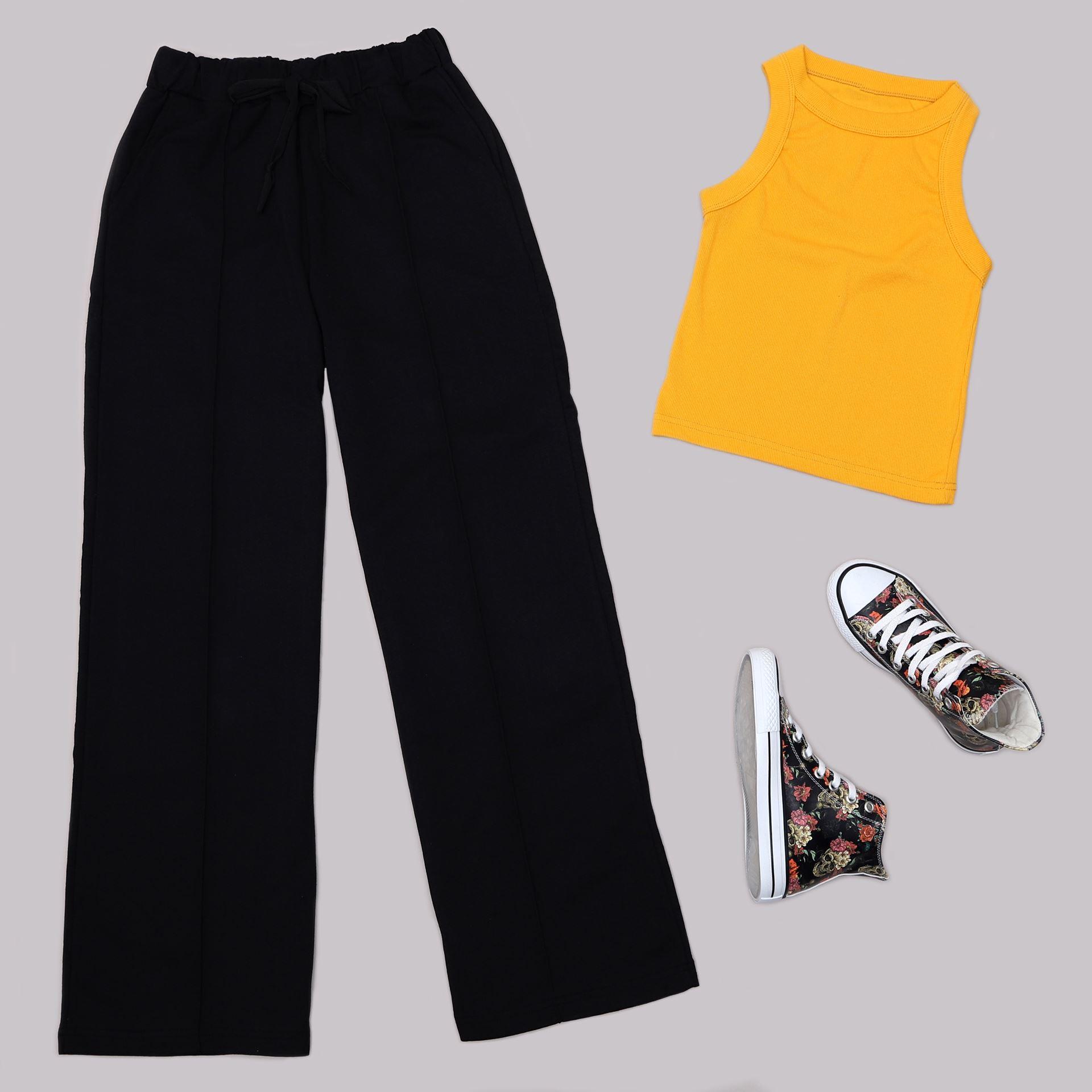 Siyah Pantolon TKM1435