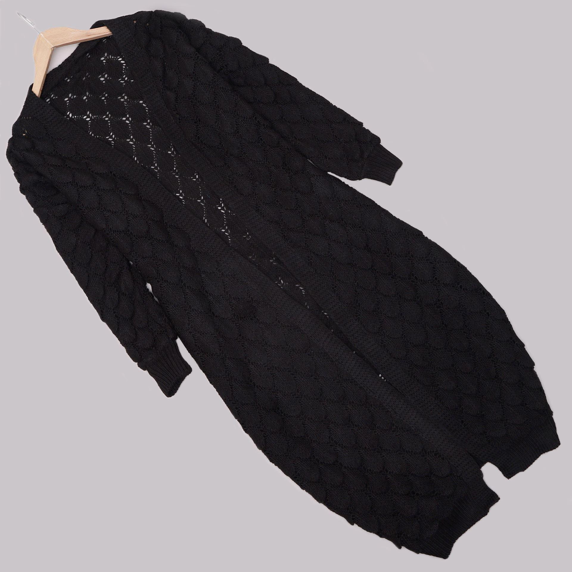 Siyah Balon Hırka HRK425