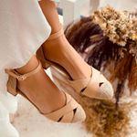 Nude Hasır Sandalet SND102