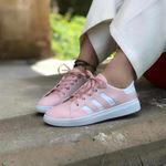Tabanı Beyaz Pudra Şeritli Spor Ayakkabı AYK109