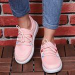 Tabanı Beyaz Pudra Fileli Spor Ayakkabı AYK101