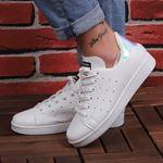 Beyaz Arkası Lila Hologram Spor Ayakkabı AYK114