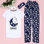 Boom Beyaz Pijama Takımı Pjm348