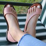 Pudra Parmak Arası Sandalet SND158