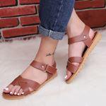 Taba Çapraz Bantlı Sandalet SND160