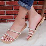 Taşlı Sandalet TRL186