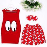 Eye Kırmızı Pijama Takımı PJM878