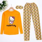 Hello Cat Hardal Pijama Takımı Pjm900