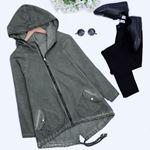 Haki Taşlamalı Ceket CKT097