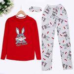 Rabbit Kırmızı Pijama Takımı PJM903
