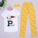 Dog Beyaz Pijama Takımı PJM908