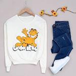 Garfield Baskılı Sweat SWT179