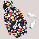 Siyah Mickey Sweat Tunik SWT228