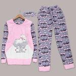 Bear Peluş Pijama Takımı PJM961