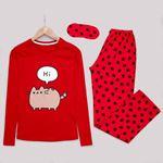 Hi Kırmızı Pijama Takımı PJM1013