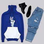 Rabbit Saks Sweat  SWT375