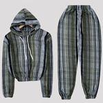 Ekoseli Polar Pijama Takımı PJM1074