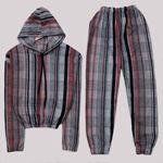 Ekoseli Polar Pijama Takımı PJM1110
