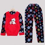 Kırmızı Pijama Takımı PJM1112