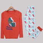 Tarçın Butterfly Pijama Takımı PJM1123