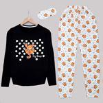 Siyah Garfield Pijama Takımı PJM1129