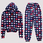 Lacivert Polar Pijama Takımı PJM1140