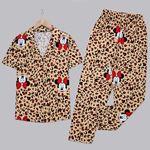 Leopar Mickey Pijama Takımı PJM1233