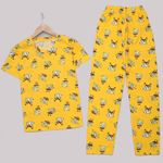 Sarı Sünger Bob Pijama Takımı PJM1234