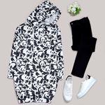 Panda Desenli Oversize Sweat SWT519