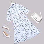 Beyaz Gömlek Yaka Elbise ELB516