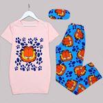 Pudra Garfield Pijama Takımı PJM1295